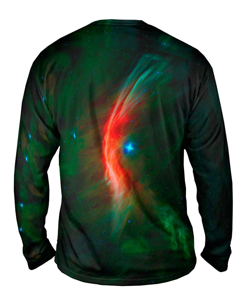 Space Galaxy Zeta Opiuchi Mens Long Sleeve Yizzam TShirt