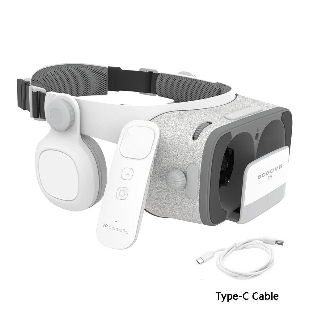 Xiaozhai BOBOVR Z5 Daydream View 3D VR Headset for Samsung Galaxy S9 S8 Google Pixel 2 Daydream Smartphones
