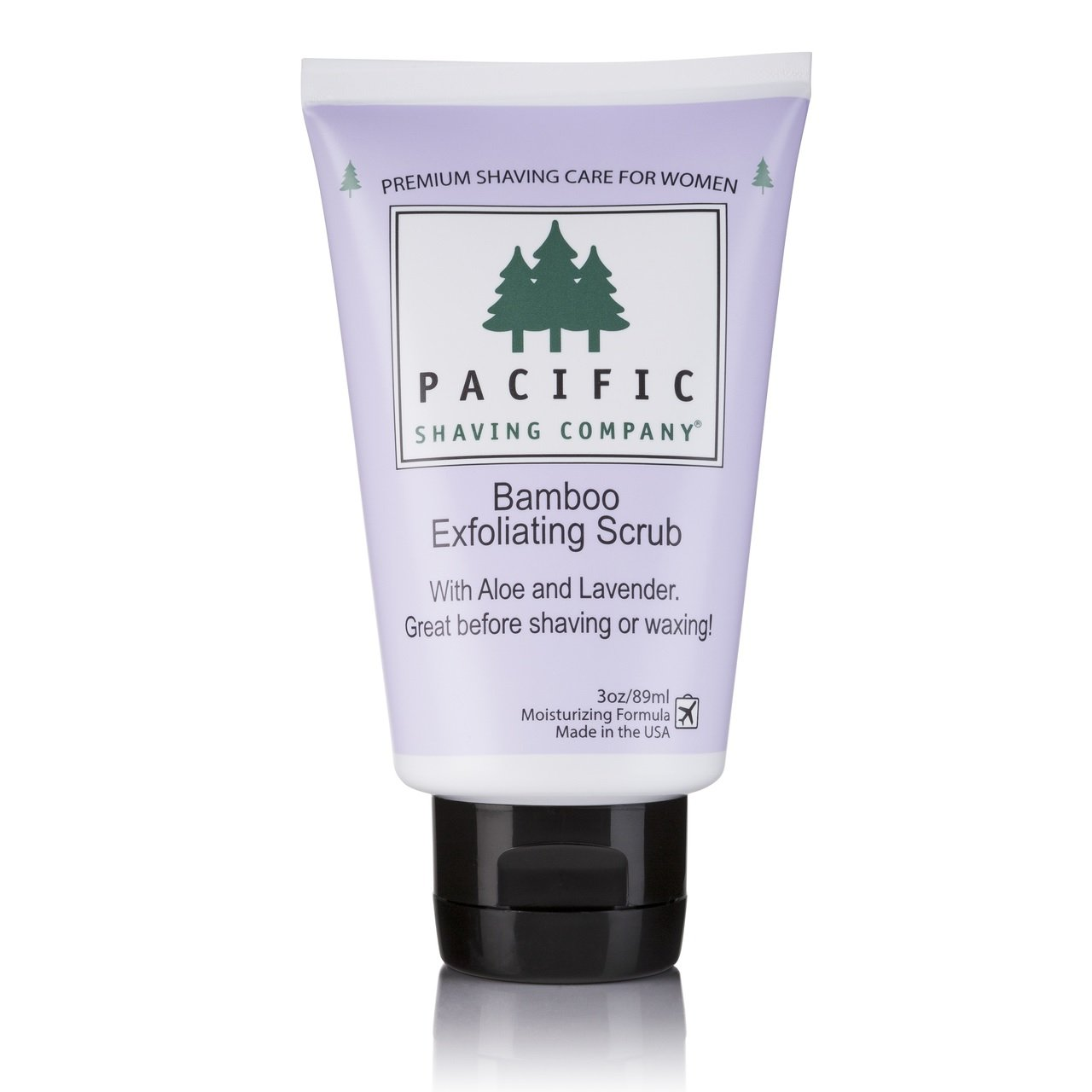 Pacific Shaving Company Bamboo Exfoliating Scrub, 3oz. Each (Pack of 9)