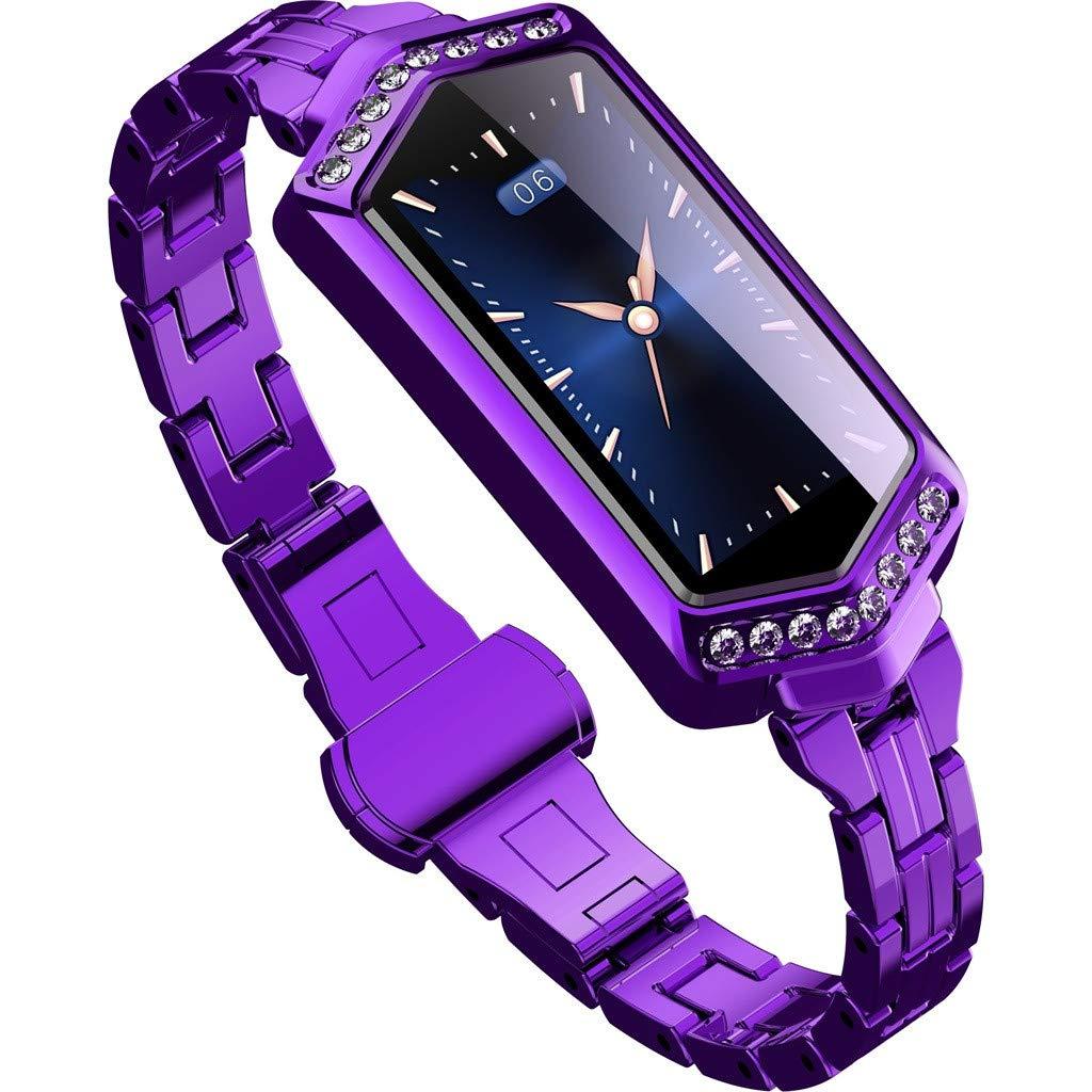 LUXISDE Fitness Bracelet Smartwatch Ladies, Activity Indicator J1 Ladies Blood Pressure & Heart Rate Sport Smart Watch Bracelet by LUXISDE (Image #1)