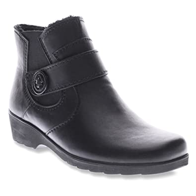 Spring Step Womens Black Boots Baleria