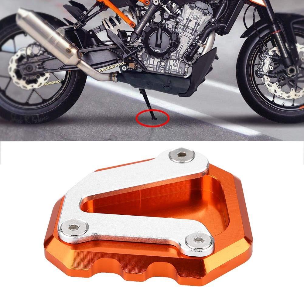 Grigio nero e arancione Colore : Arancia Pad cavalletto 1 PC di Cavalletto laterale per cavalletto per CNC Cavalletto laterale per KTM 790 DUKE 2018-2019.