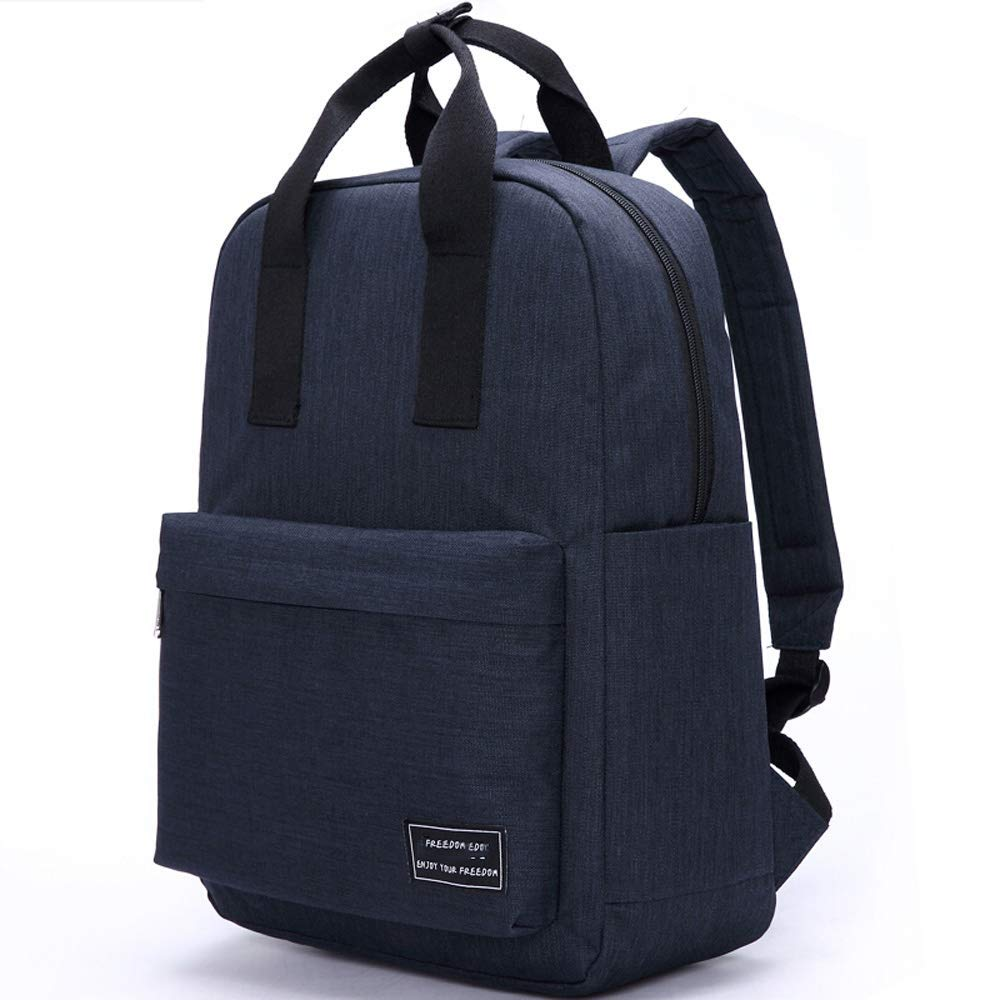 Noir  WONS Sac à dos de voyage de camping de randonnée extérieure imperméable, sac à dos d'ordinateur portable de grande capacité Bleu