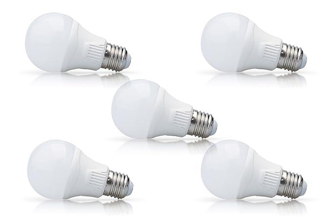 Azione prezzo! wellmax set di 5 led lampada pari a 40 w e27 3000