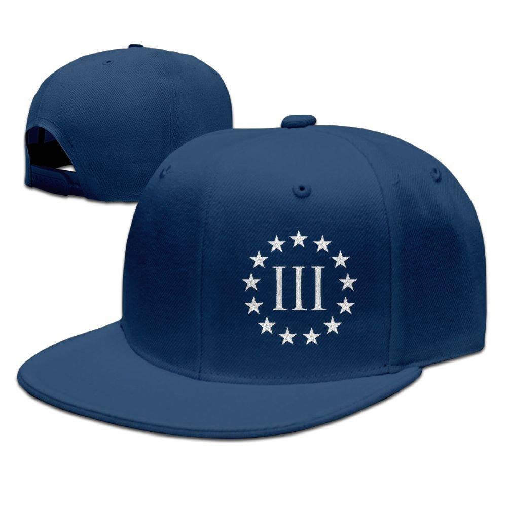 3045734d53c GAMMAGU Vintage Molon Labe 3 Percenter III Embroidery Plain Baseball Hats  Trucker Hats at Amazon Men s Clothing store
