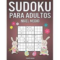 Sudoku Para Adultos Nivel Medio: 365 Sudoku de Media Dificultad para Adultos con Soluciones y Instrucciones - Edición de…