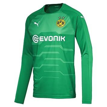 Puma Fútbol Borussia Dortmund Portero Camiseta de Manga Larga 2018 2019 Verde, XXXL