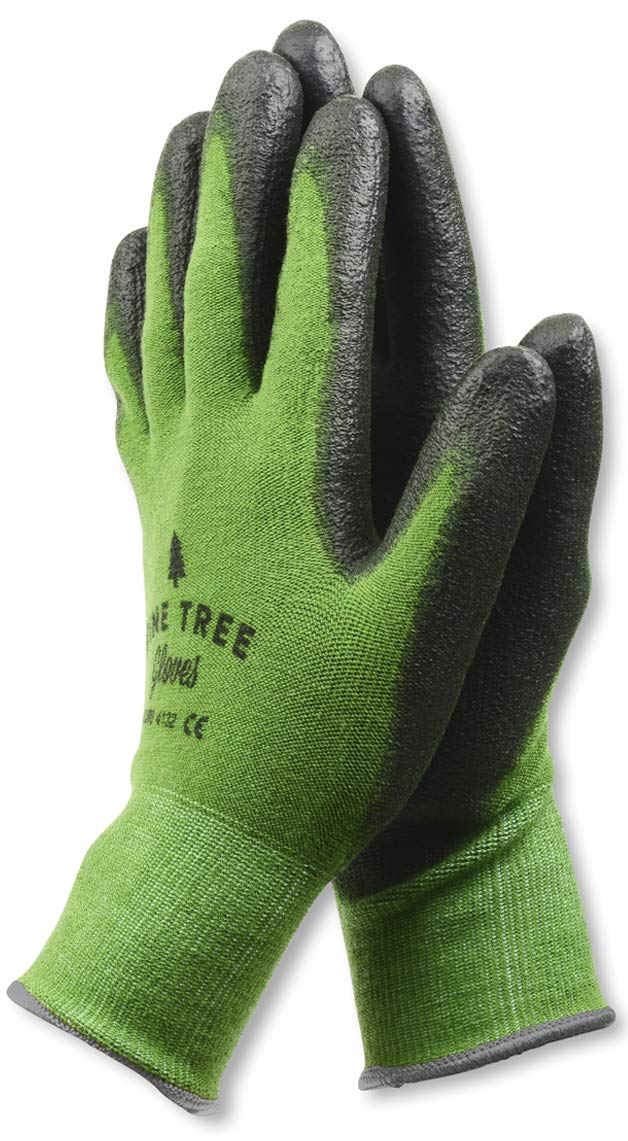 Pine Tree Tools Bamboo Working Gloves for Women and Men. Ultimate Barehand Sensitivity Work Glove for Gardening, Fishing, Clamming, Restoration Work & More. S, M, L, XL, XXL (1 Pack XXL)