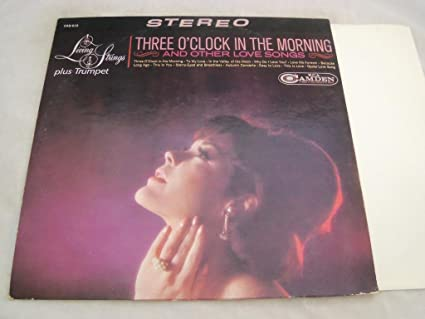 Three Oclock In The Morning And Other Love Songs Lp Rca Camden