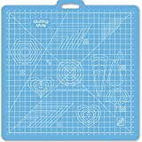 June Tailor 26-Inch-by-27-Inch Gridded with 23-Inch-by-23-Inch GridRotary Mat With Handle