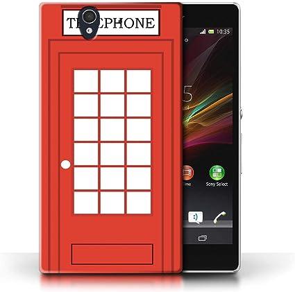 eSwish - Carcasa para teléfono móvil, diseño de Londres Cabine ...
