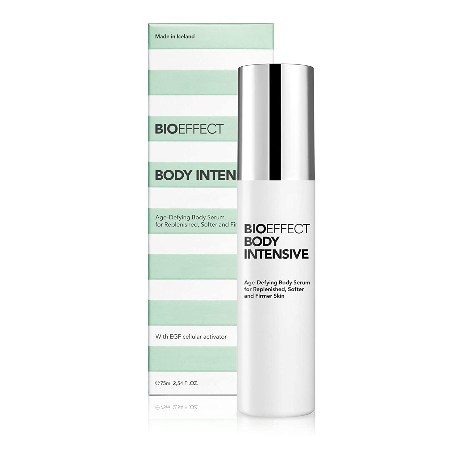 BIOEFFECT Body Intensive Anti-aging, Moisturizing Cream with EGF & Hyaluronic Acid for Neck, Chest, Hands, Arms & Legs, Natural Lotion to Boost Collagen, Hydrate, Smooth, Firm & Tone Crepey Skin