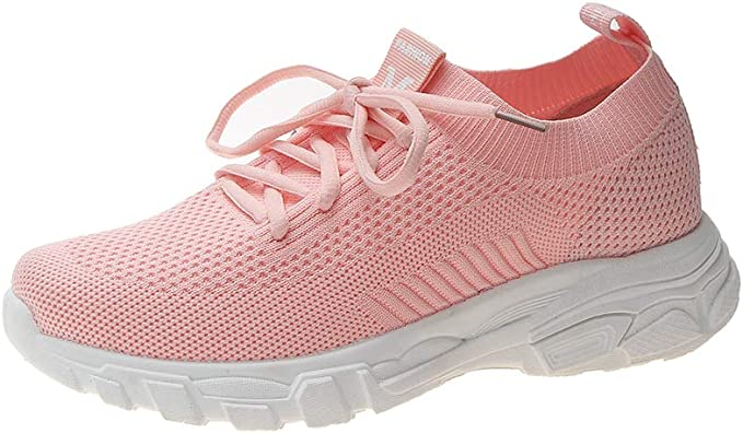 Zapatillas De Mujer Running Zapatos De Verano Nuevos Calcetines Voladores Zapatos Mujer Estudiantes Fitness Zapatos Casuales,Pink,35: Amazon.es: Ropa y accesorios