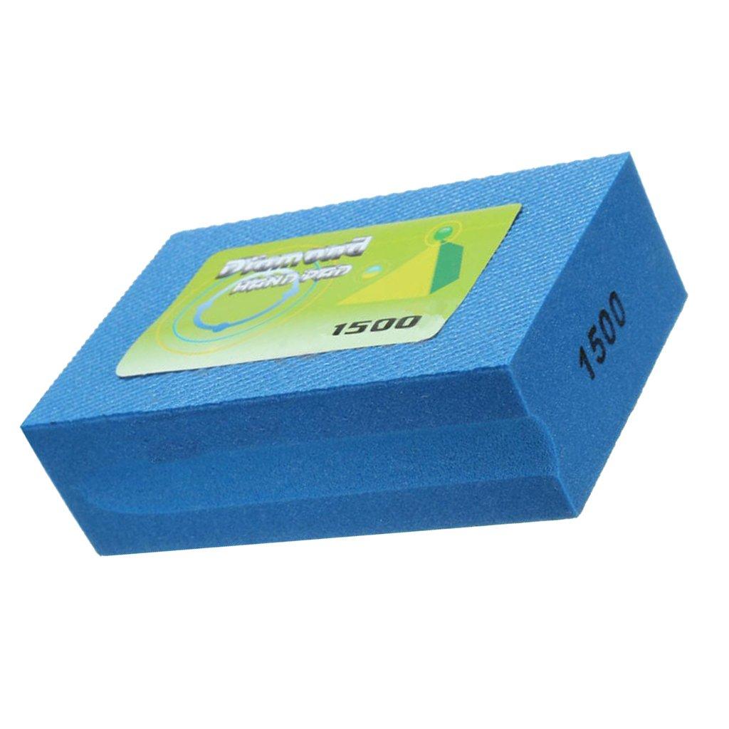 Gazechimp Mousse de Polissage /à Diamant Eponge Polishing Block pour Marbre Pierre Carrelage B/éton 800 Grit Blanc