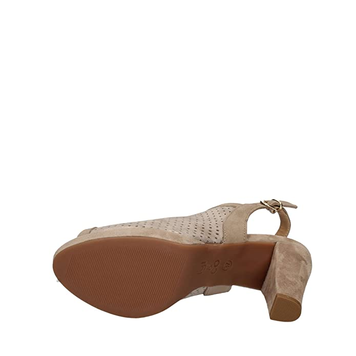 scarpe donna sandali pelle laminata beige IGI&CO 77573 r4nHt9