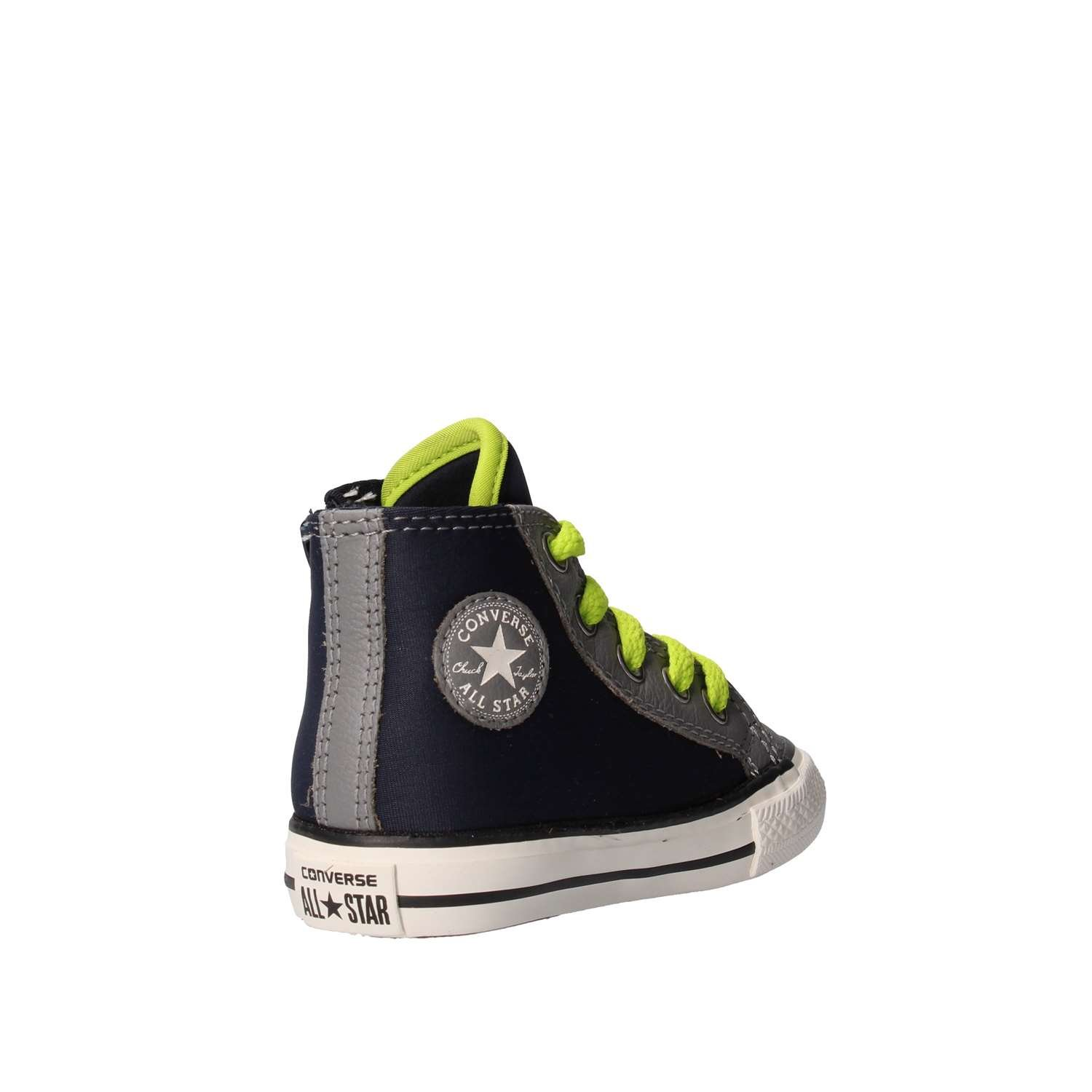 a1e086e9d163f0 Converse Chuck Taylor All Star Side Zip Hi Shoes Sneakers- Obsidian Mason Lime  (4 Toddler)  Buy Online at Low Prices in India - Amazon.in