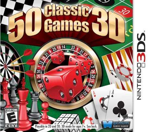 50 Classic Games - Nintendo 3DS (Chess Game For 3ds Nintendo)