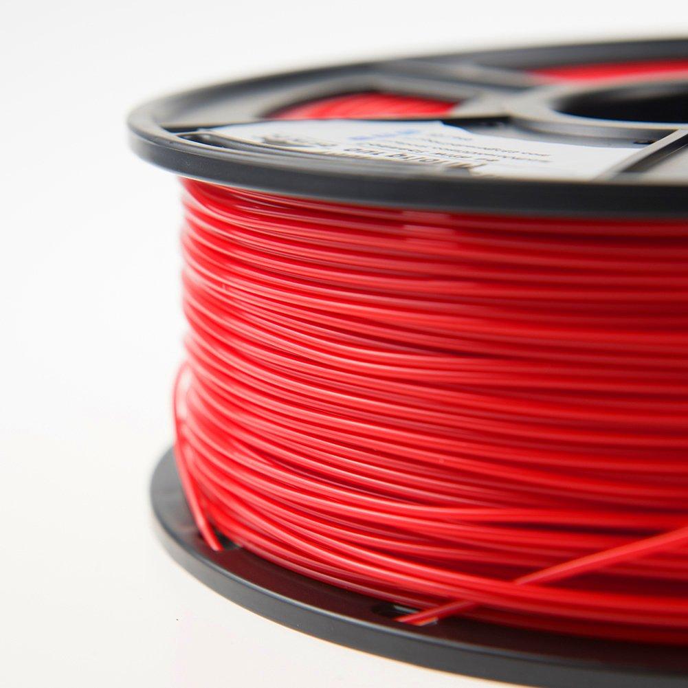 Dimensional Accuracy +//- 0.02 mm 1KG 3D Hero PLA Filament 1.75mm,PLA 3D Printer Filament 2.2 LBS ,1.75mm Filament Bonus with 5M PCL Nozzle Cleaning Filament PLA Filament Black