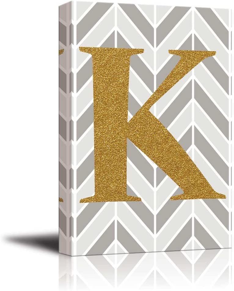 Gold Letter K Wall Decor from images-na.ssl-images-amazon.com