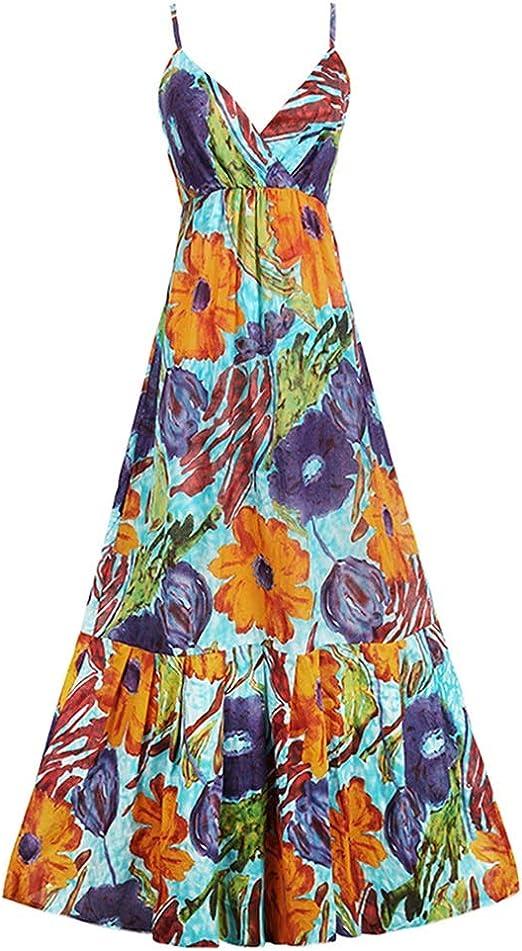 Vestidos Ropa/Mujer Cóctel Falda de Playa para Mujer Vacaciones ...