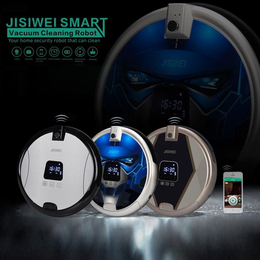 JISIWEI S+ Robot Aspirador Inteligente Incorporado con 1080p ...