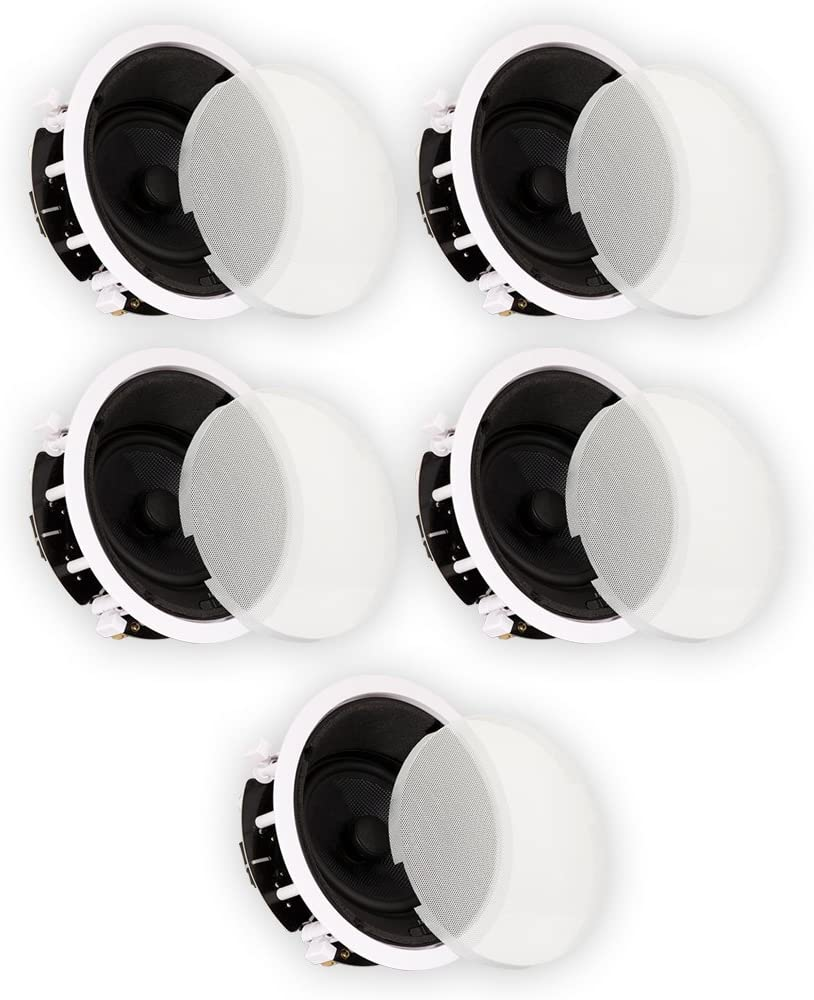 "Theater Solutions TSS6A Home Theater Deluxe in Ceiling 6.5"" Angled 5 Speaker Set 5TSS6A"