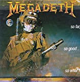 Megadeth - So Far, So Good So What! - Capitol - CI 48148 - Canada NM/NM 2LP