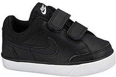 original de costura caliente Precio 50% compra especial Amazon.com | Nike Capri 3 Leather (TDV) 579949 014 Black/Black ...