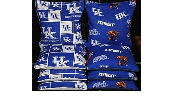 Stripe Design PROLINE 6x6 NCAA College Cornhole Bean Bags Renewed