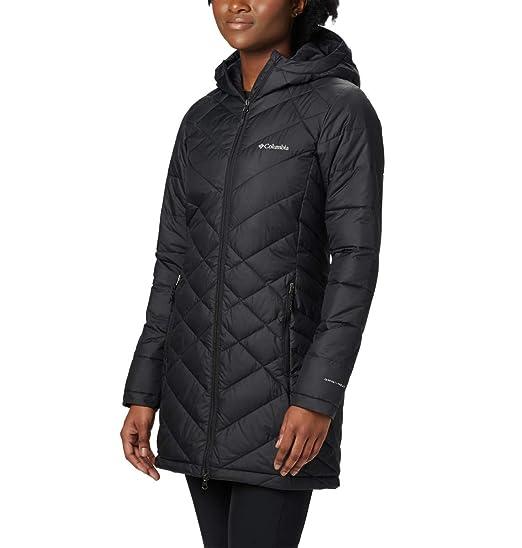 9a26718557e4a Amazon.com: Columbia Women's Heavenly Long Hooded Jacket: Clothing