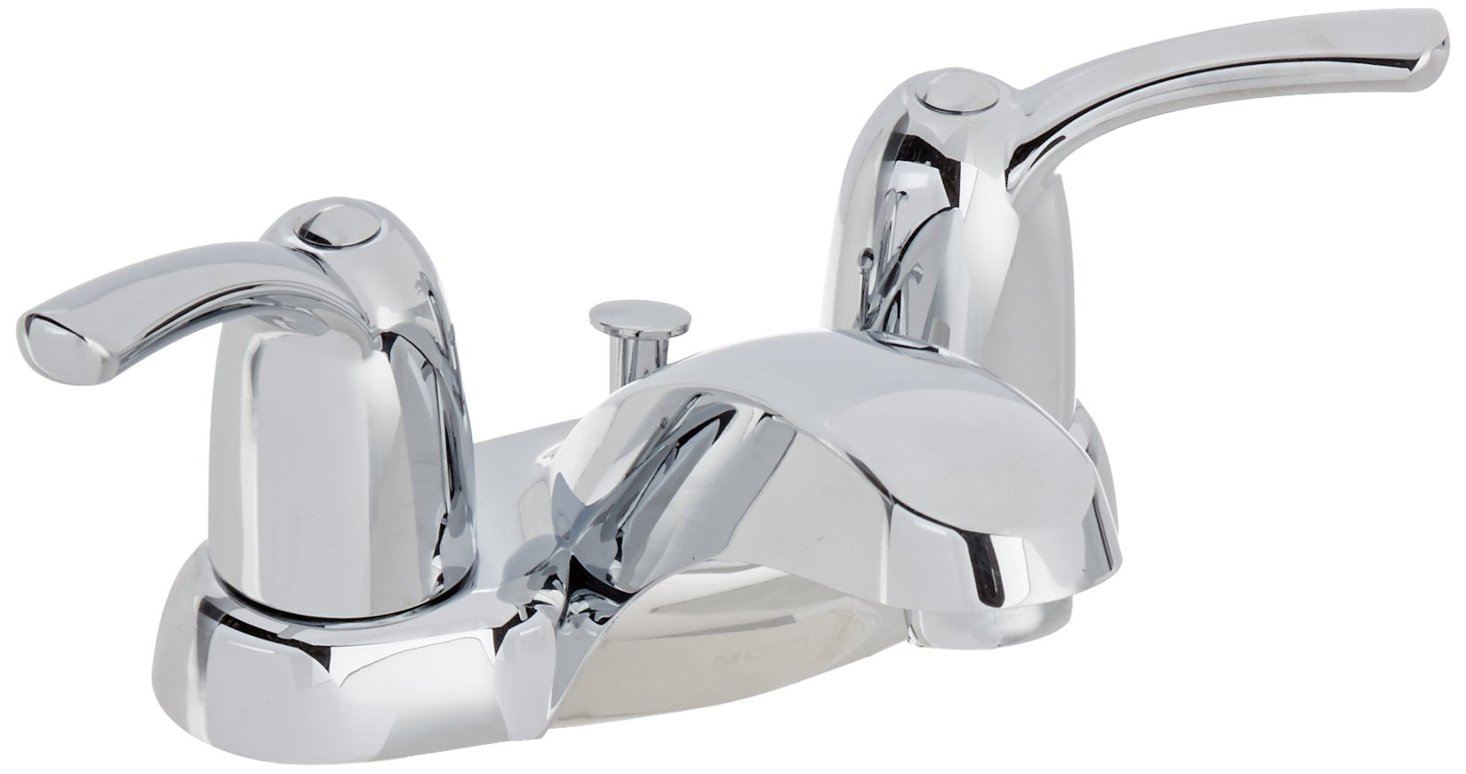 MOEN WS84403 2 Lever Faucet, Chrome by Moen