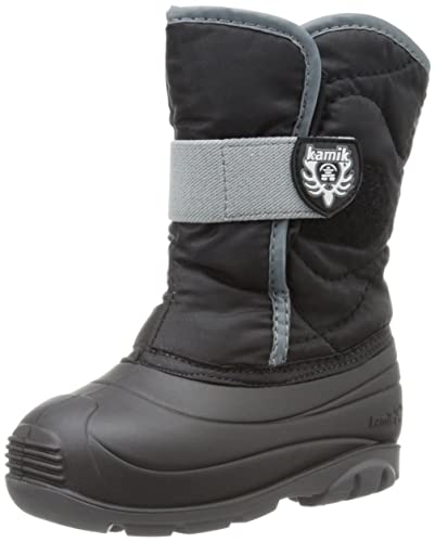 Kamik Snowbug F Girls' Infant-Toddler Boot 9 M US Toddler Navy