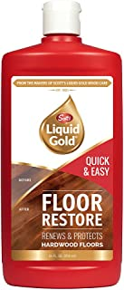product image for Scott's Liquid Gold Restore   Renews & Protects Hardwood Floors   Quick & Easy Way to Help Hide Scratches & Imperfections While Leaving a Clean, Bright Finish   24 Oz, 24 Fl Oz