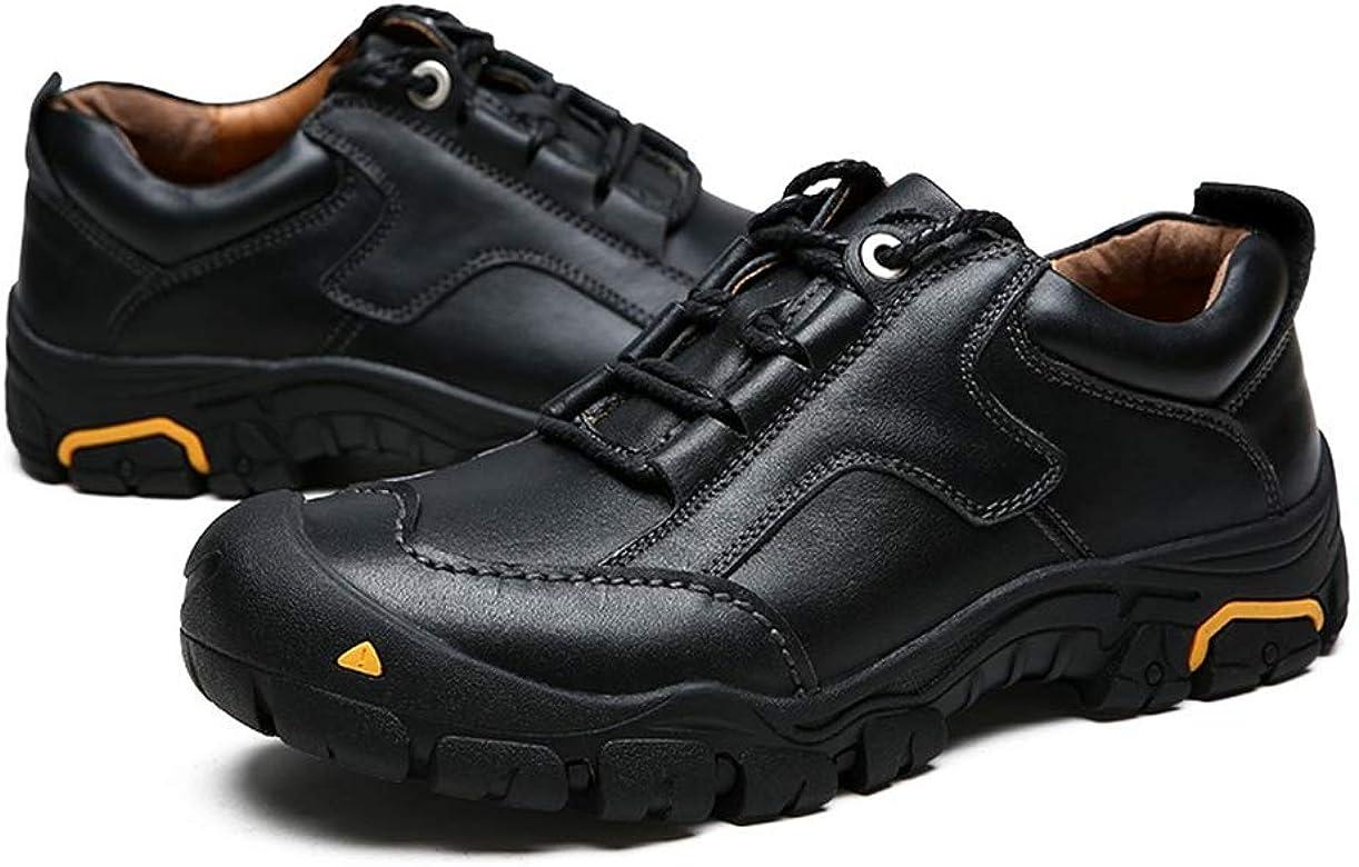 Running cheetah Cuero Genuino Zapatos de Trekking al Aire Libre Zapatillas de Escalada de montaña Senderismo 42: Amazon.es: Zapatos y complementos