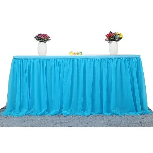 Tulle falda de tabla, 4 capas de tela de mesa con forro de gasa ...