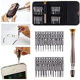 Demana 25 in 1 Precision Screwdriver Set Opening Repair Tools Kit for Mobile Phone PC Laptop Tablet iPad Watch Jewelry Repair Watch Repair Eyeglass Repair and More