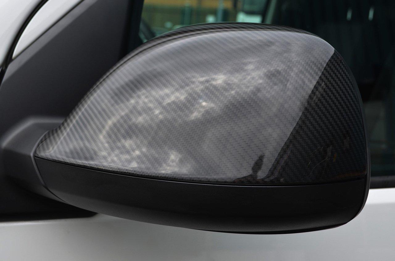 Carbon Fibre Wing Mirror Trim Set Covers To Fit T6 Transporter (16+) ALVM Parts & Accessories