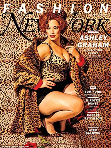 New York Magazine (August 7, 2017) Fall Fashion Issue Ashley Graham Cover