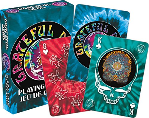 Aquarius Grateful Dead Tie Dye Playing Cards