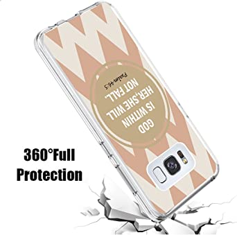 Amazon.com: Samsung S8 Case Bible Verse,Ecute Soft Slim Flexible Clear Rubber Side + Style Hard Back Case for Samsung Galaxy S8 5.8