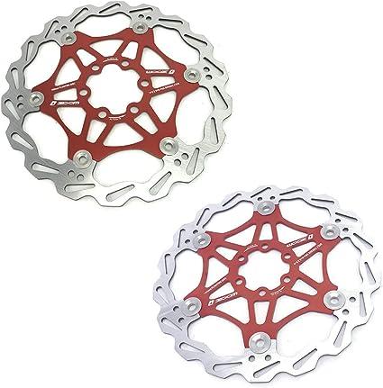 160//180mm Disc Brake 6 Bolts Rotor MTB Bicycle Mechanical Disc Brakes Caliper US