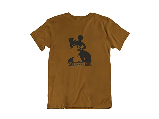 0c333c42301 Amazon.com  Squirrel Girl Shirt Squirrel Girl inspired Kids T-Shirt in a  variety of colors Youth Shirt  Handmade