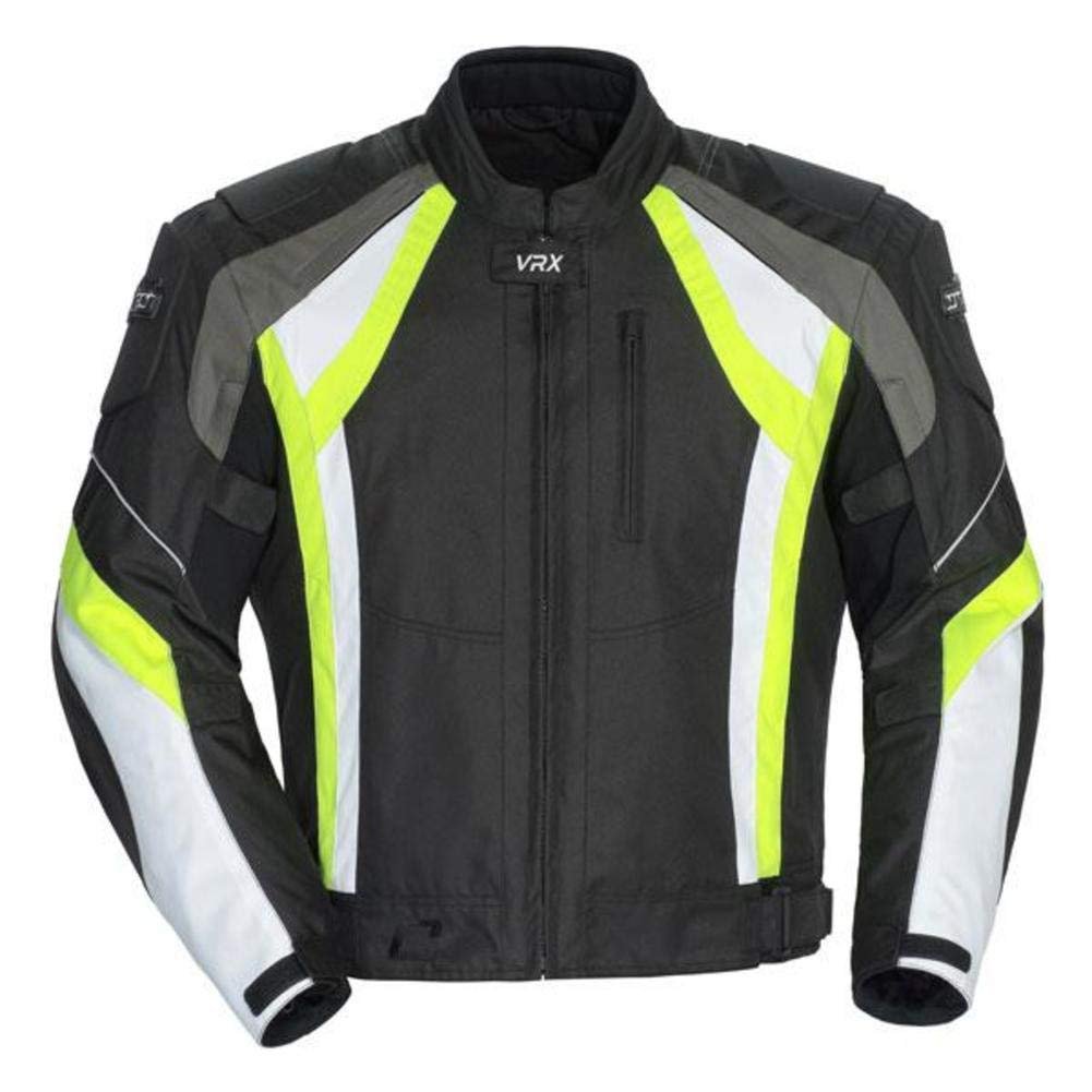 Cortech VRX Men's Textile Armored Motorcycle Jacket
