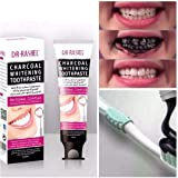 Dr. Rachel Charcoal toothpaste for whitening and fresh breath 100ml