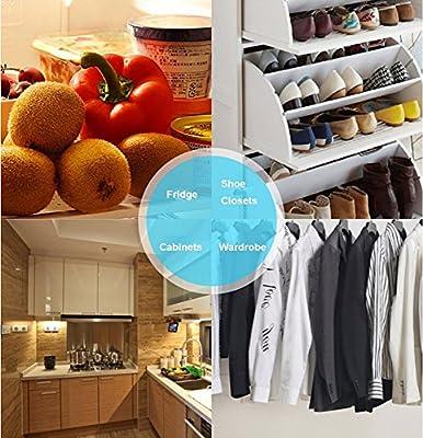Fitiger Refrigerator Purifier,Intelligent Air Purifier,Ozone Sterillization,Sterilizing Deodorizer Purifier,No Harm