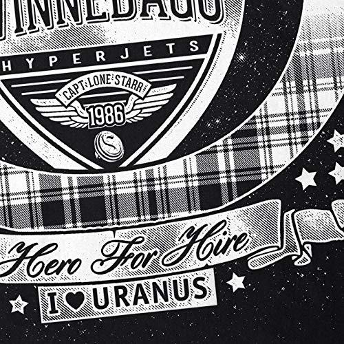 Mobihome negro espacio Starr del historia camiseta loca Hombre Lone Hormiga La US614xqB6w