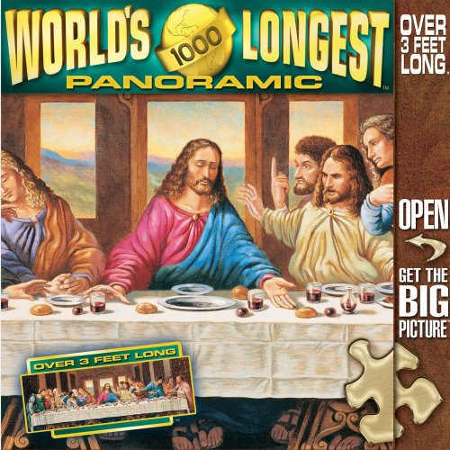 MasterPieces Last Supper Jumbo Panoramic 1000pc Puzzle