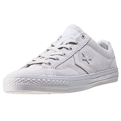 8bc7acc7220 Converse Mens Star Player Oxford Grey Suede Trainers 7 US