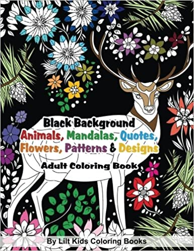 Amazon Com Black Background Animals Mandalas Quotes