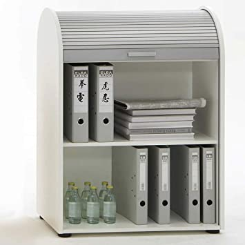 Büromöbel weiß Rollladenschrank Rolladenschrank Büroschrank Aktenschrank